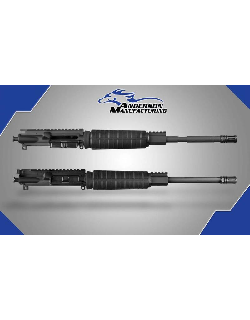 "Anderson Manufacturing AR15 Upper Combo - 5.56 and 300BLK - 16"" - Two Uppers/One BCG/One CH"