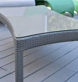 Kannoa South Beach Coffee Table w/ Glass
