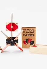 Areaware Plawood Playing Cards