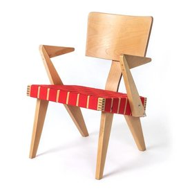 Gus Spanner Lounge Chair with Arms
