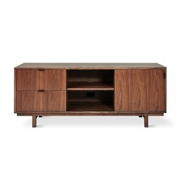 Gus Belmont Media Stand Walnut