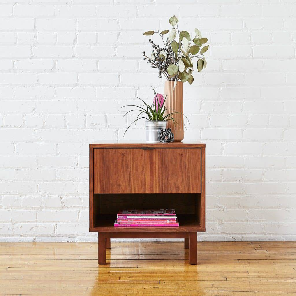 Gus Belmont End Table Walnut