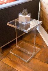 Gus Acrylic I-Beam Table