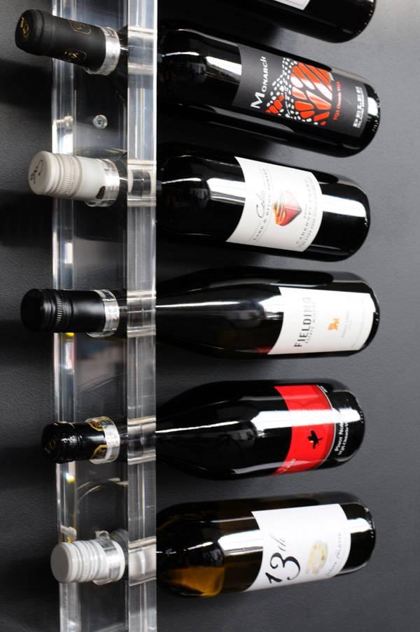 Gus Acrylic Wine Rack