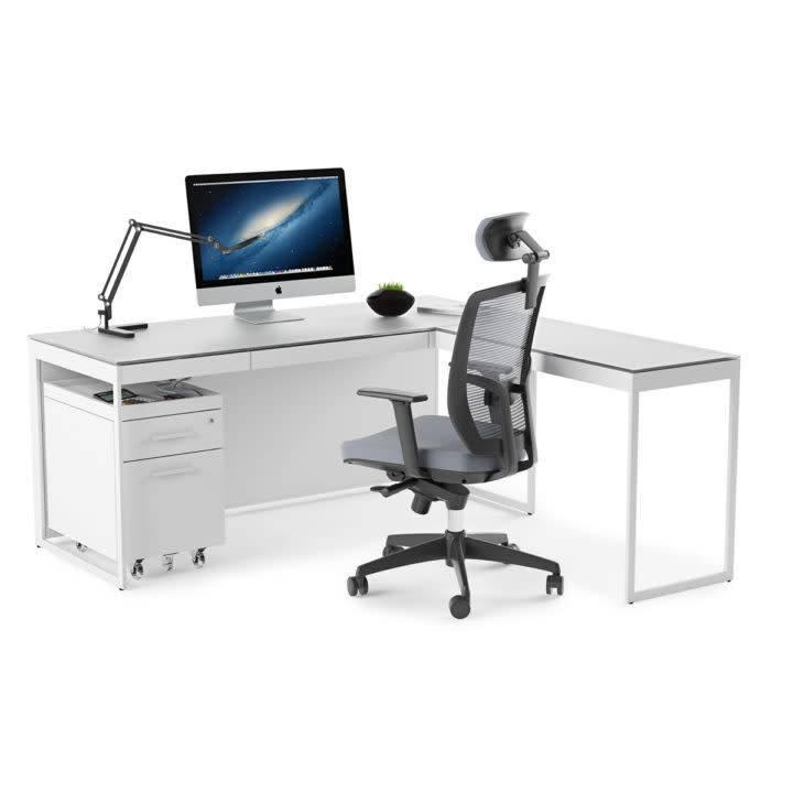 BDI Centro Mobile File Pedestal 6407