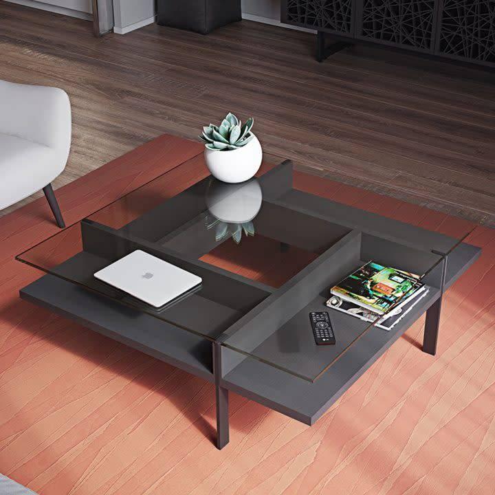 BDI Terrace Square Coffee Table 1150