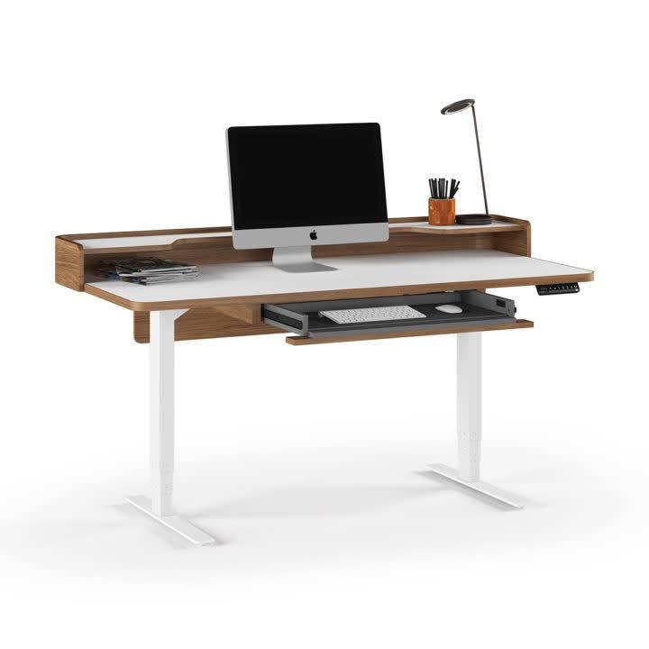 """BDI Kronos Lift Standing Desk - 62""""x31"""" 6752"""