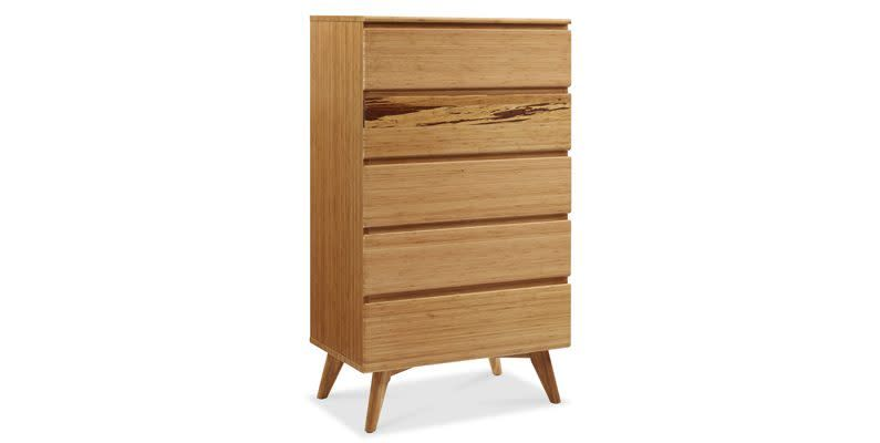 Greenington Azara Five Drawer High Chest