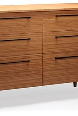 Greenington Sienna Six Drawer Dresser