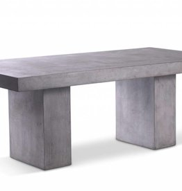 Urbia Elcor Dining Table, Dark Grey 8'