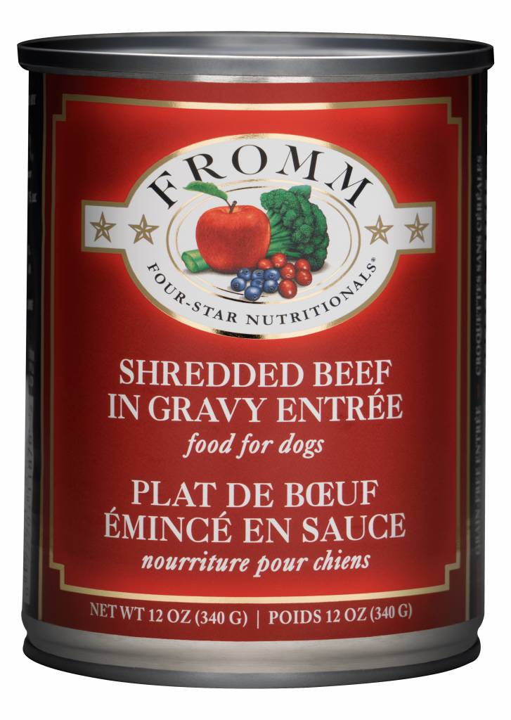 Fromm Family Fromm Can Dog Shredded Beef 12.2 oz