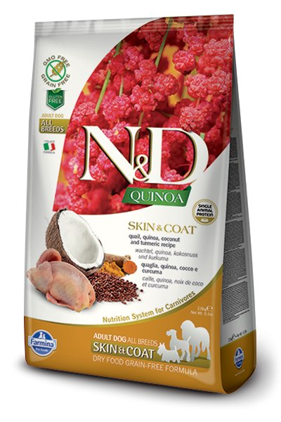 Farmina Farmina Dog LID Quinoa Skin & Coat Quail 5.5#