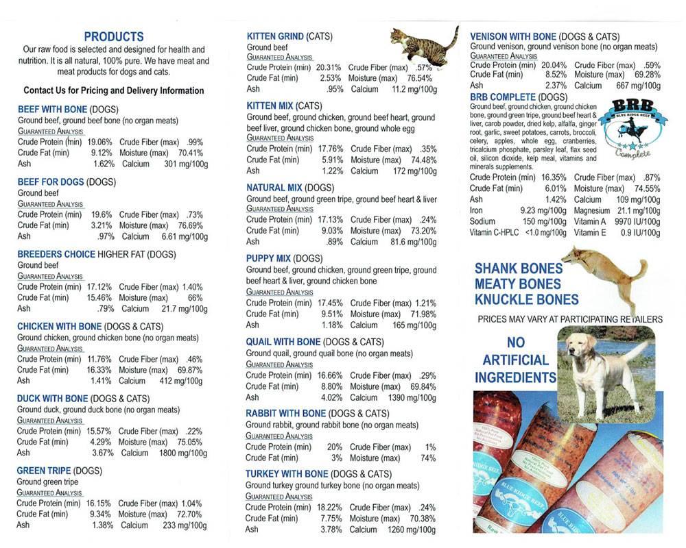 Blue Ridge Beef Blue Ridge Beef Puppy Mix