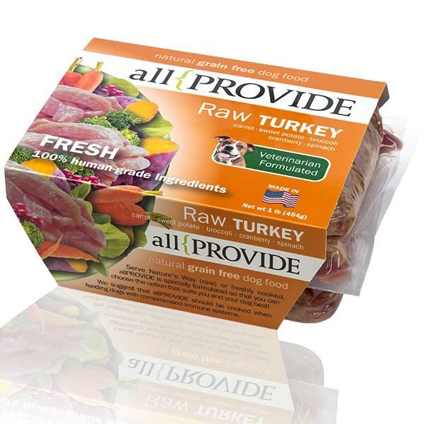All Provide All Provide Raw Turkey