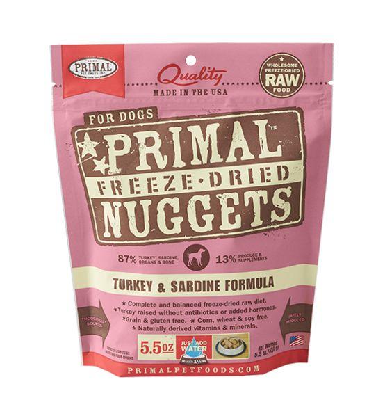 Primal Pet Foods Primal Dog Food Turkey Sardine 5.5oz