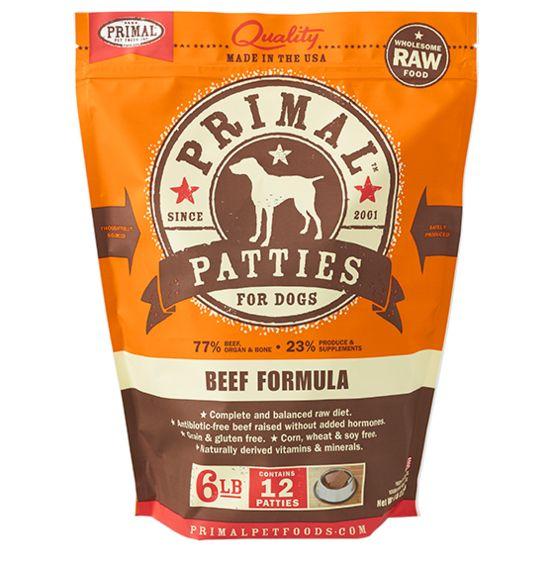 Primal Pet Foods Primal Dog Frozen Beef 6#