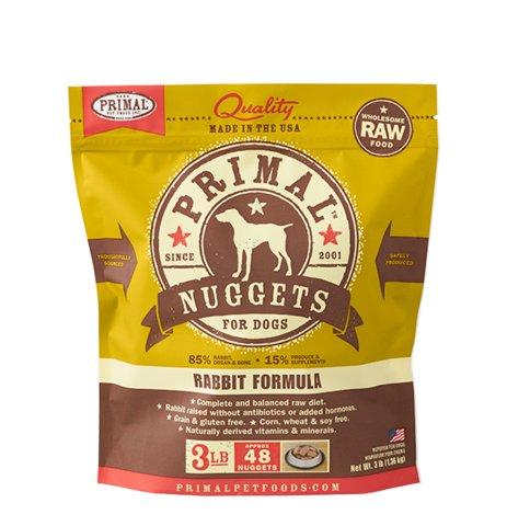 Primal Pet Foods Primal Dog Frozen Rabbit 3#