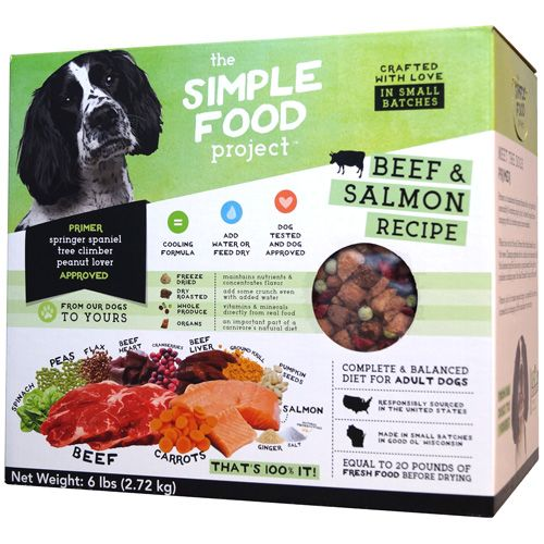 The Simple Food  Project The Simple Food Project Beef & Salmon 6#