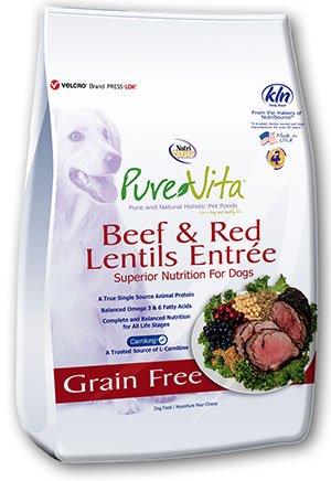 Pure Vita Pure Vita Beef and Lentil Grain Free