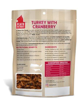 Plato Plato GF Turkey & Cranberry 12oz