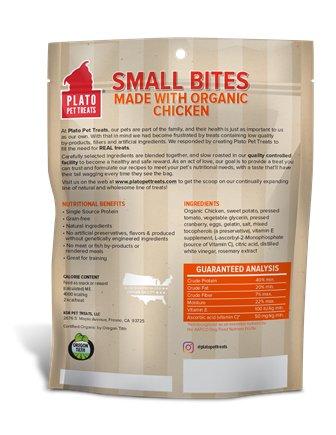 Plato Plato Small Bites Chicken 10.5oz