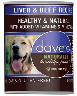 dave's Dave's Dog Liver and Beef