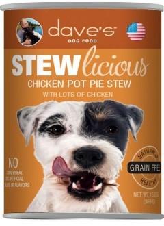 dave's Dave's Dog Chicken Pot Pie