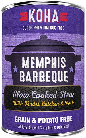 Koha Koha Dog Memphis BBQ Chicken Pork