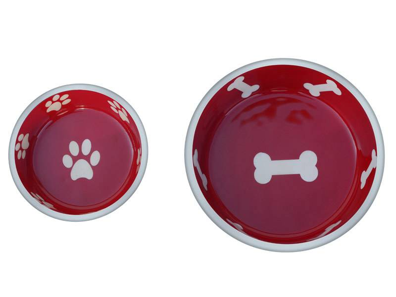 Indipets INDIPET CAST ALUMINUM SUPER MAX BOWL XS RED