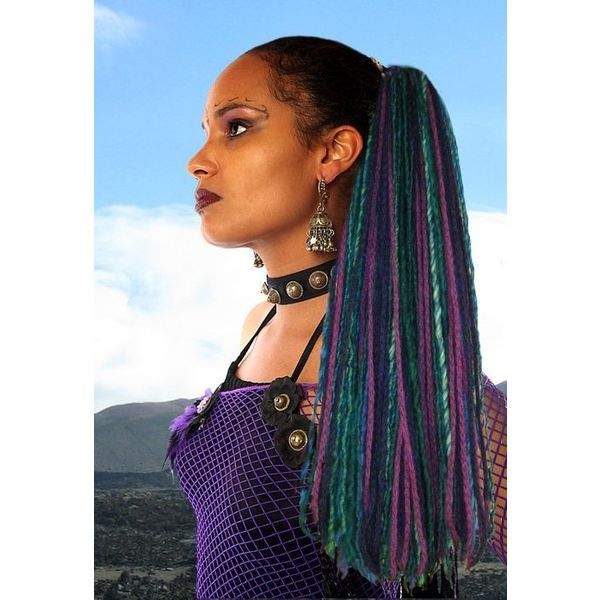Purple Paradise Dreads