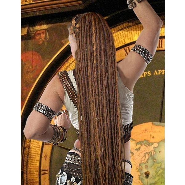 Chestnut Dreads