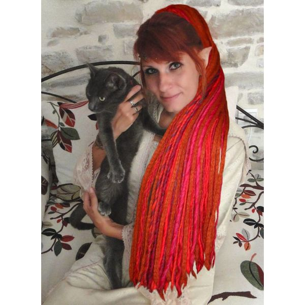 Fair Witch Red Dreads