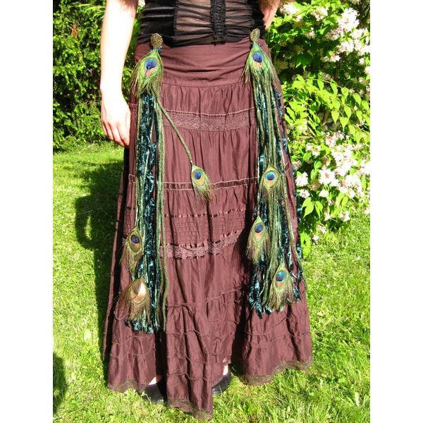 Emerald Fairy Peacock tassel
