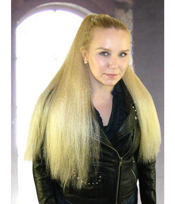 Goth Hair Falls Crimped Lush Lolita Extensions All Hair Colors Magic