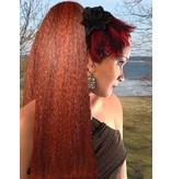 Hair Fall Size L, crimped hair