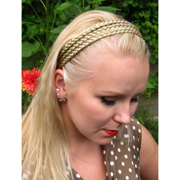 Triple Braid Headband