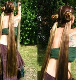 2 Hair Falls, size S extra, crimped hair texture