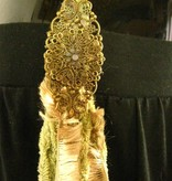 Fantasy belt tassel clip Rhine Gold