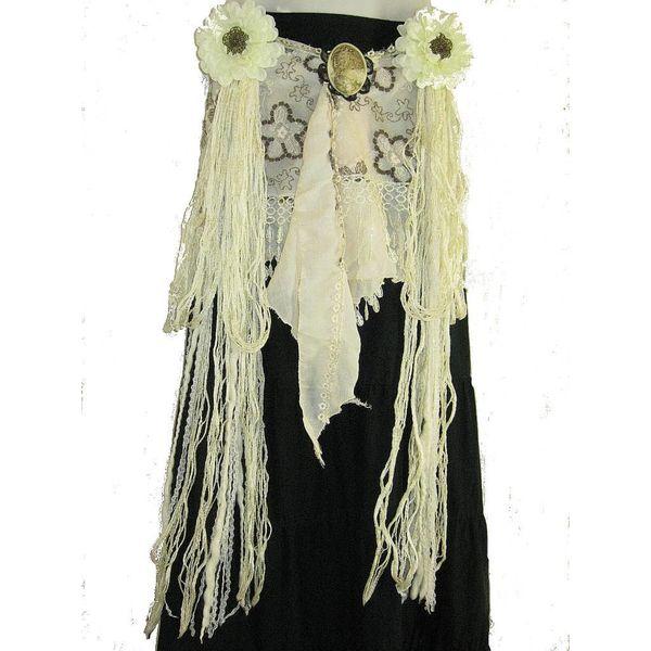 50 % OFF Flora belt & hair tassel
