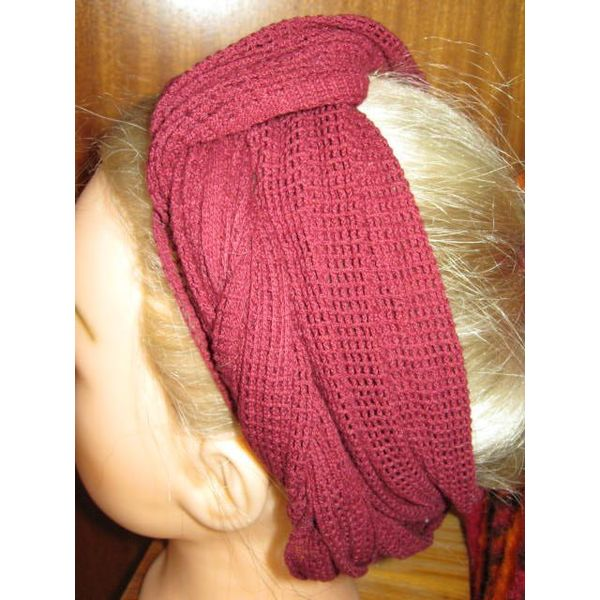 Red net hip & hair scarf