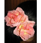 Boho Roses 2 x antique pink