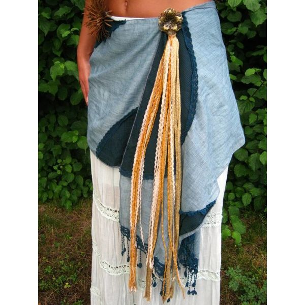Gypsy Gold belt tassel