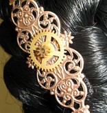 3 Mechanical Steampunk Copper Ornaments