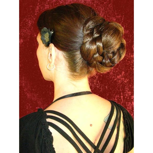 Braided Elf Chignon