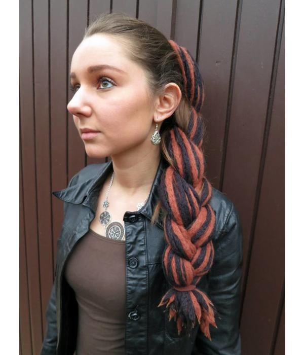 Black Brown Steampunk Dreads