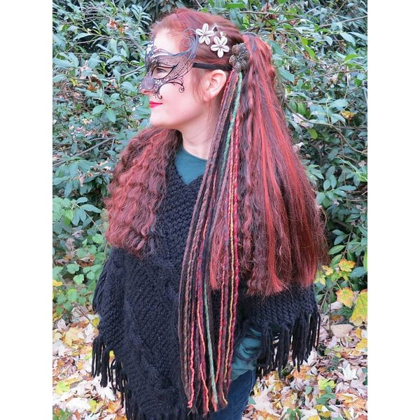Dark Gypsy Spirit Dreads Tassel