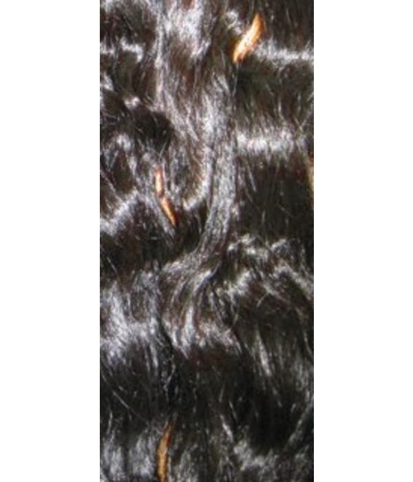 Curly Hair Piece M, natural curls - Color 3