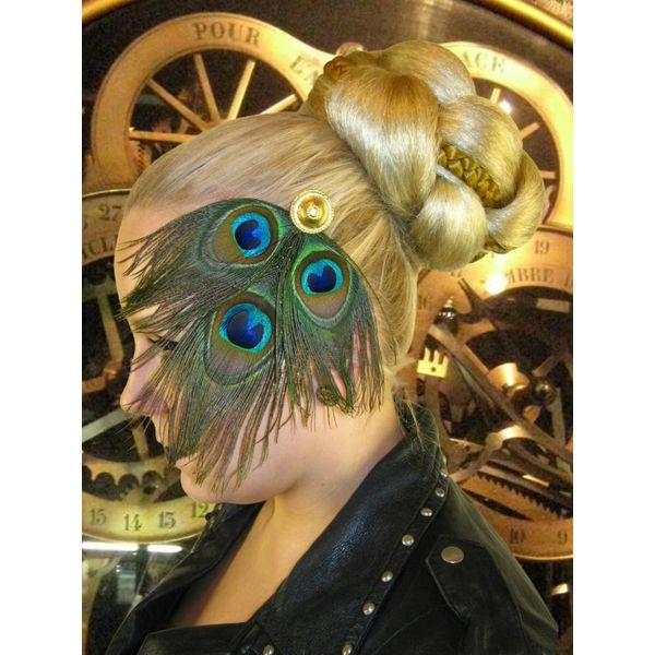Peacock Tribal Headpiece Gold