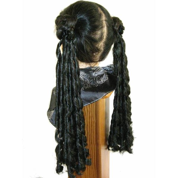 Goth hair falls Baroque or Sissi curls, 2 x S