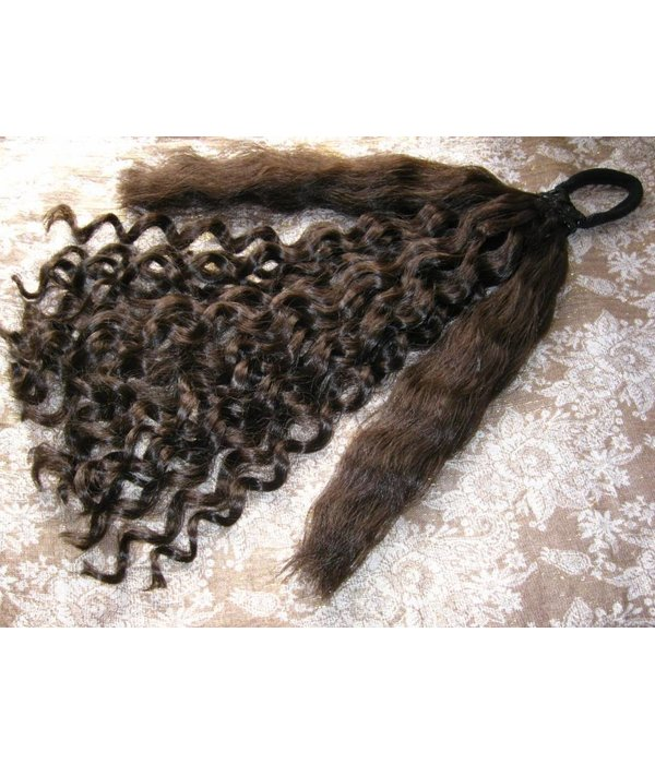 Curly hair piece Baroque or Sissi curls, L